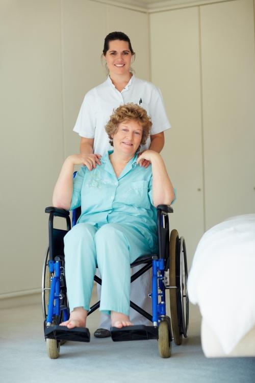 Patient being discharge